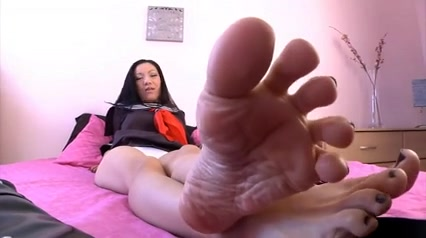 Oriental Foot Mistress Teen pussy and porn sex