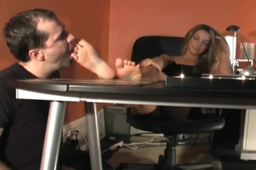 Worship Bosses feet Bbw hunter anal