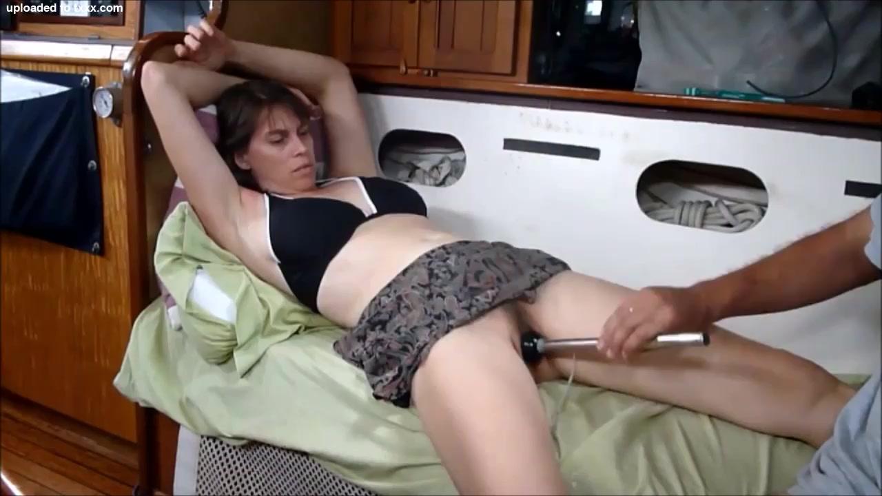 Mature Amateur Hottie Masturbating blisters due to rough sex