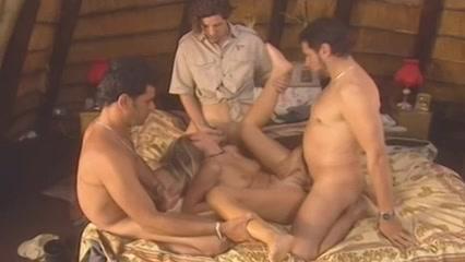 Foursome in an African hut anna semenovich nude porn vk