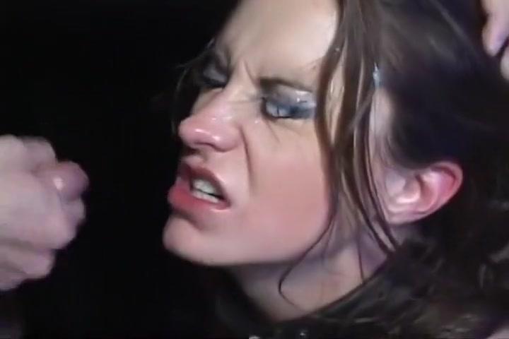 Tearful Oral Sluts Eyes Caked With Jism