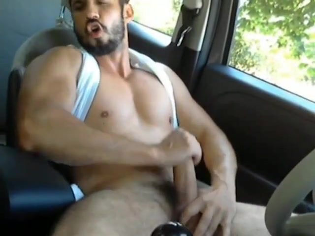 Horny hunks in car 28 Thick stripper