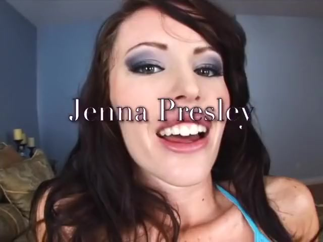 Incredible pornstar Jenna Presley in crazy facial, brunette porn movie Brunette getting tied up and punished pretty hard