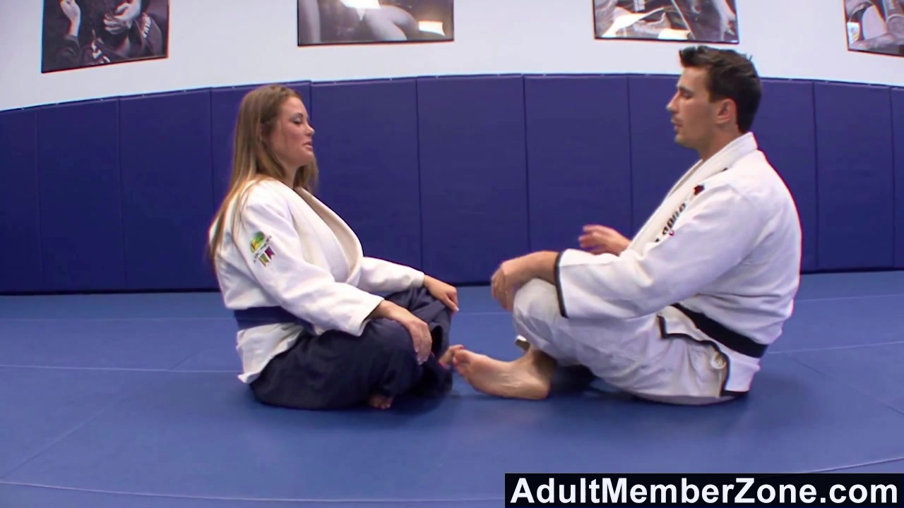 Adultmemberzone The judo teacher also gives her great fucks Up skirt pussy