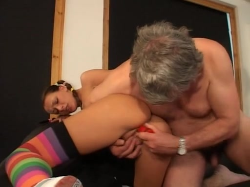 Old Man and Legal Age Teenager playing Addison grey fuck