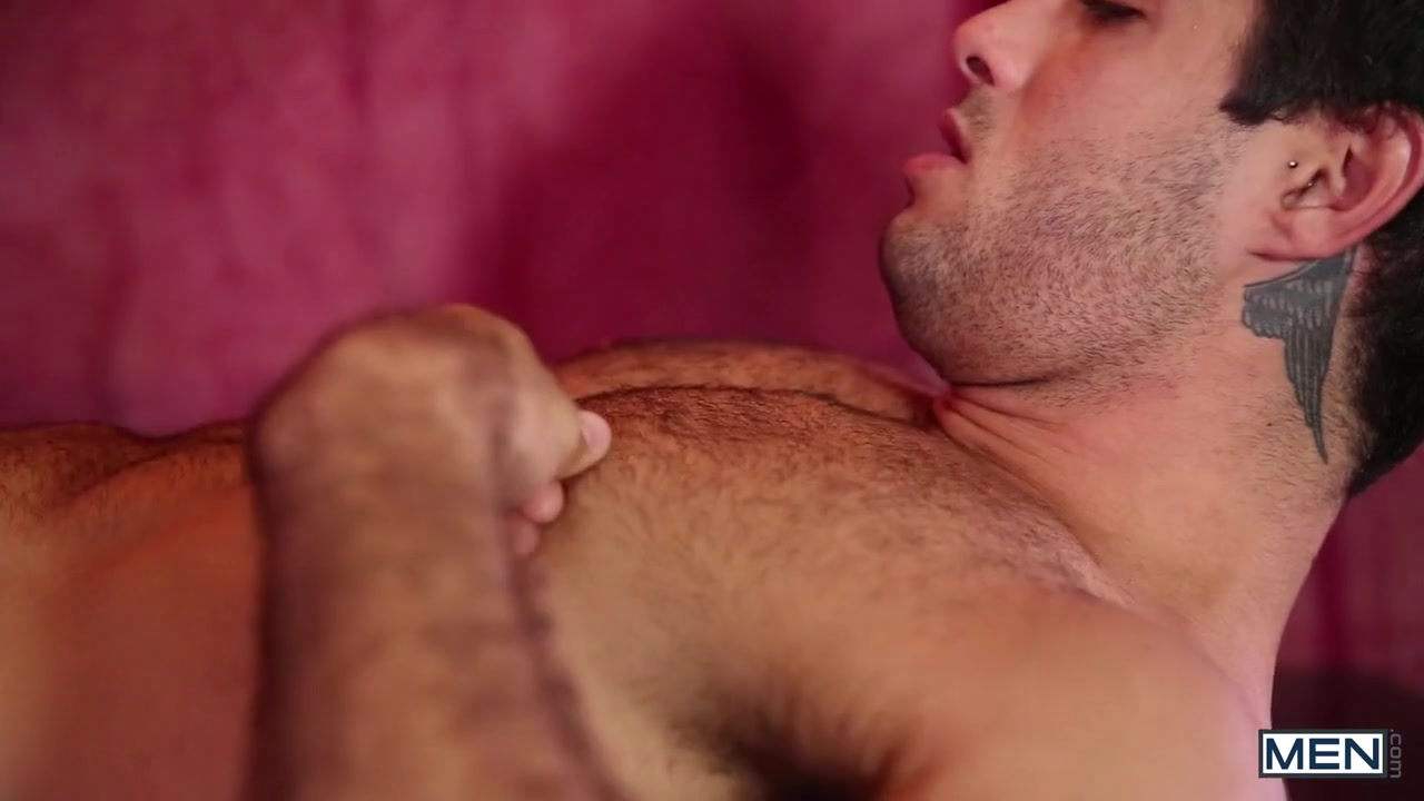 Brandon Evans & Diego Sans in Warmed - GodsOfMen fucking in a hairy vagina
