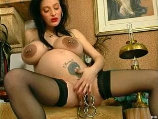 Preggo O'Pearl Biggest Cum-Hole Ring free real hidden pussy videos