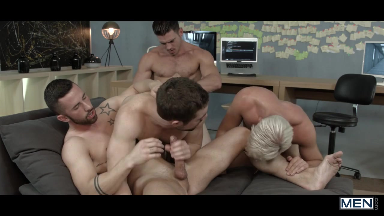 Griffin Barrows & Jessy Ares & Ken Rodeo & Paddy OBrian & Sunny Colucci in Ex-Machina : A Gay XXX Parody Part 5 - SuperGayHero does he just want me for sex