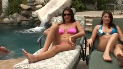 Perverted twirl themselves at the pool Mature asian cuckold