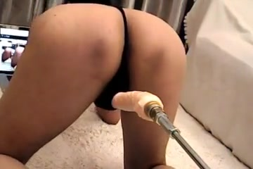 Live chat Anal Fucking Machine with huge dildo Big dick hard core