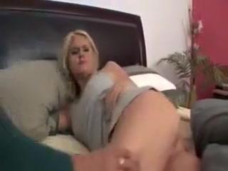 Lesbea masturbates Milfe fucked