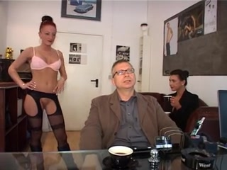 German Secretary part two Milf tight anal