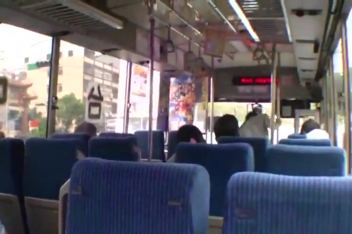 Bus wichs Hot lagyboy with girle in ass sex