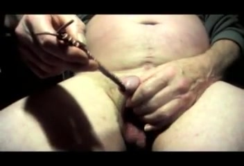 Sounding urethral man gay crossdresser dildo toy cock pussy got you hot