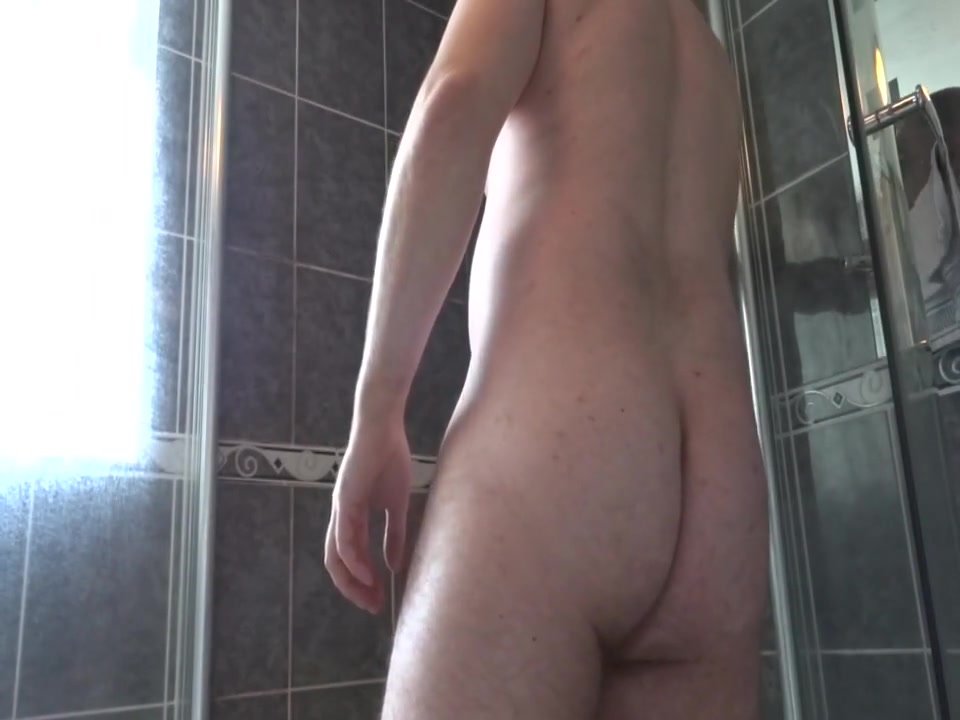 Showering Phat Round Ass