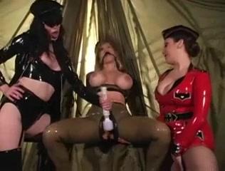 3 lesbos in latex