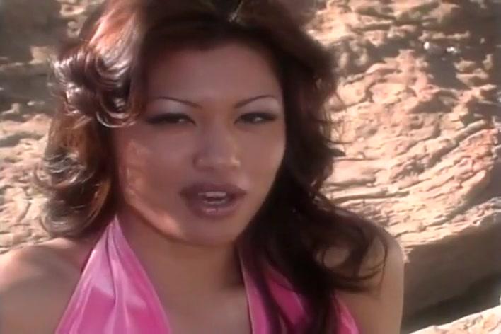 Naughty Asian Charmane Star Outside Black lesbians licking feet