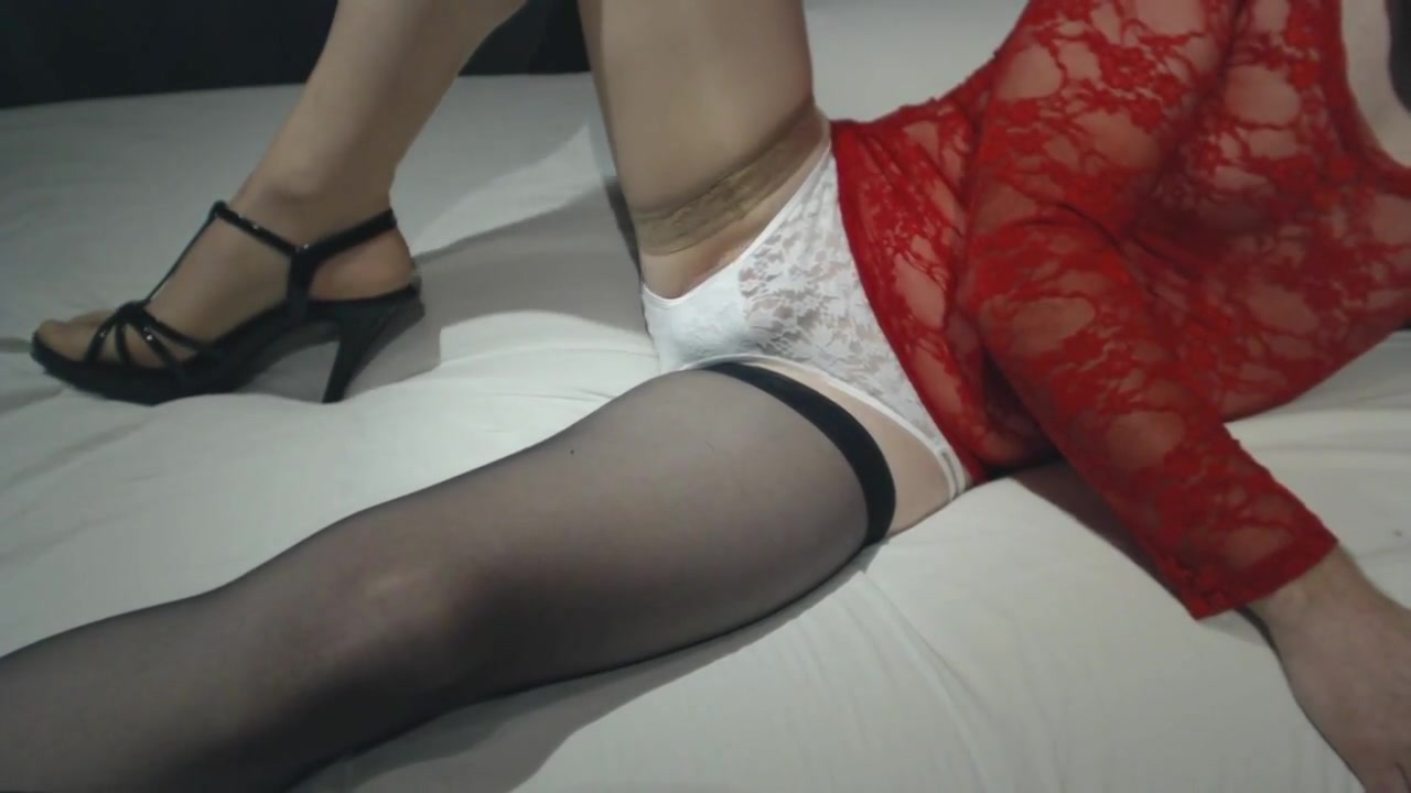Panties stockings lace heels oil cock Kukka Sex Vedeos