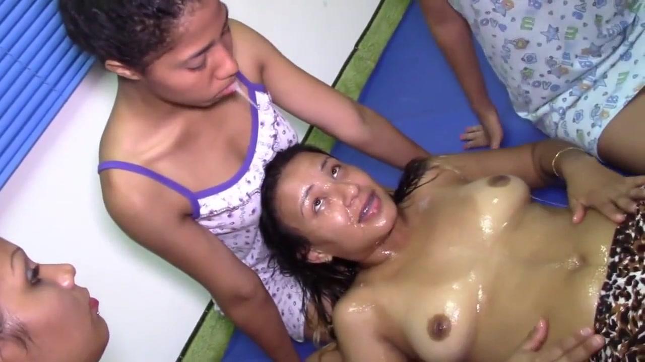 Bent naked girls hot over