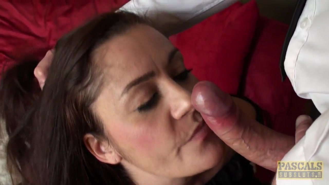 Busty british sub spunked in mouth twice hot sexy black nigro girls in pron sex
