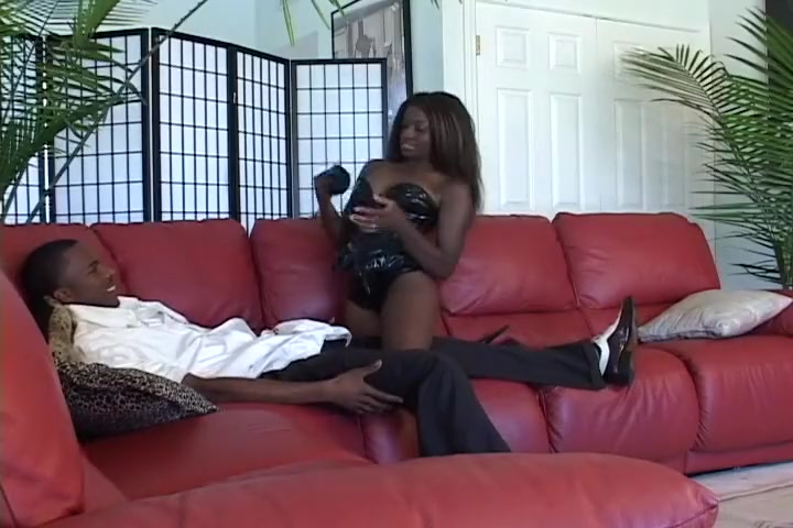Cock Crazy Black Whore Begs For Anal Big natural boobs cock