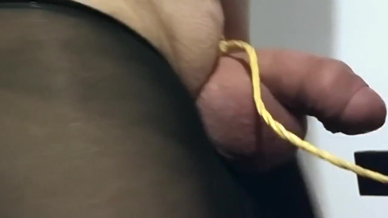 Tied His Penis to a Treadmill free amber lynn porn