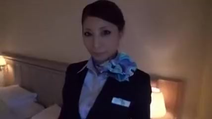 real flight attendant room service 2 Solo porn pictures