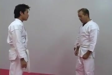 Hot Karate Lesson men caught sleeping nude
