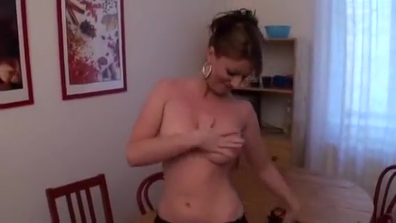 Busty mom cut on the table Mole in different parts of the body meaning