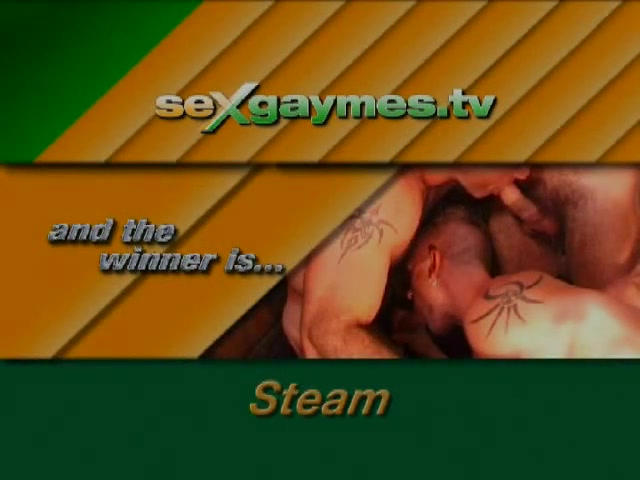 Steamed! Hot muscular daddies in sauna sex Beautiful milf milks his cock dry !