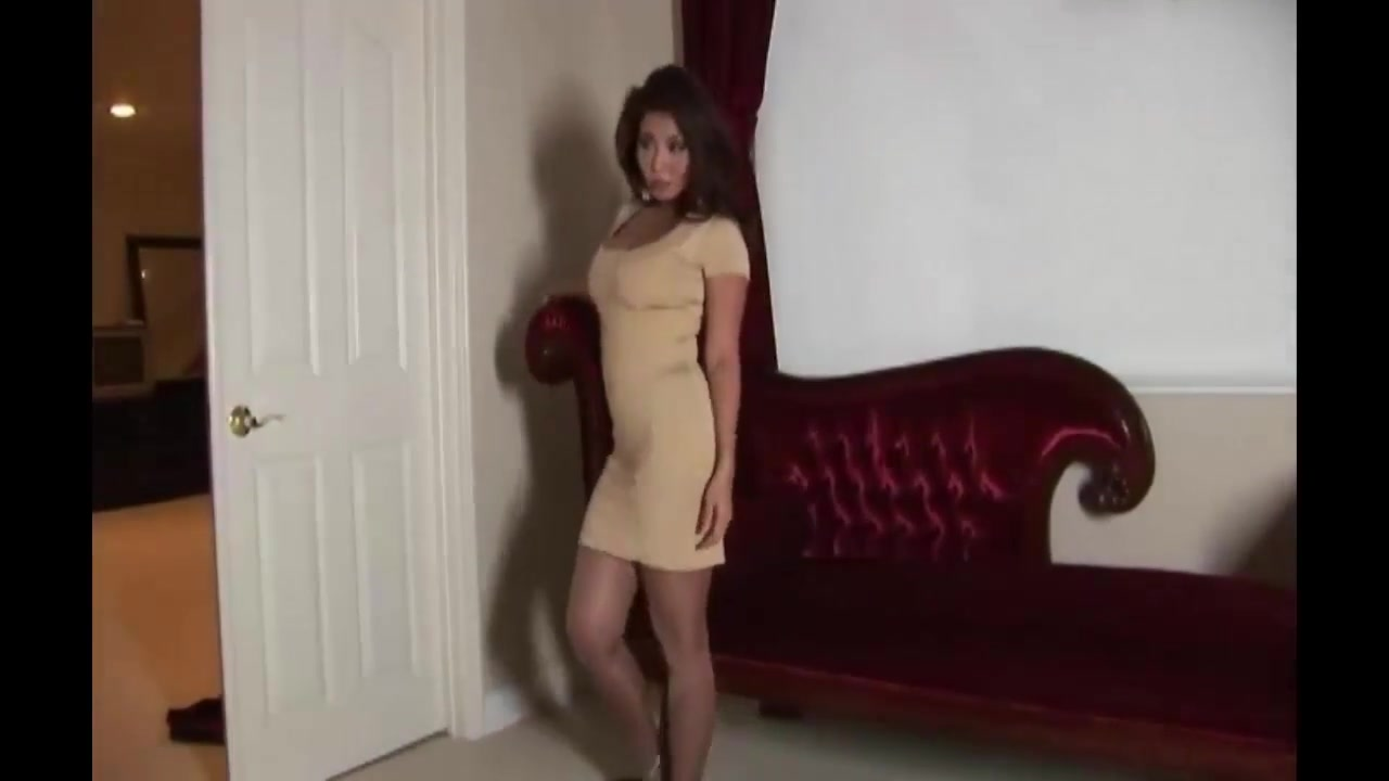 Pantyhose milf gold dress Fucking hot people naked as hell