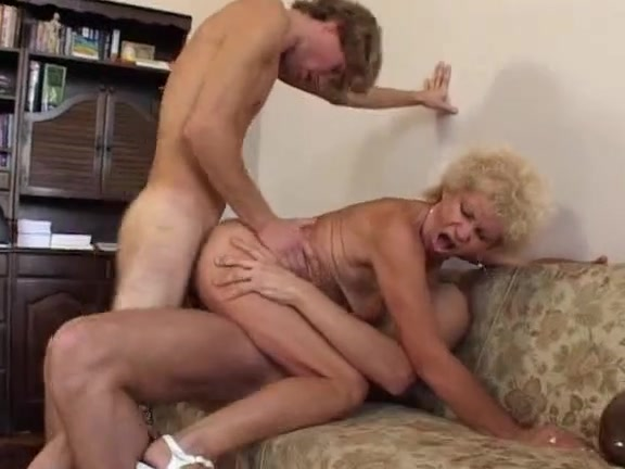 Hirsute Grandma Takes It In One As Well As The Other Holes free sex movie japan