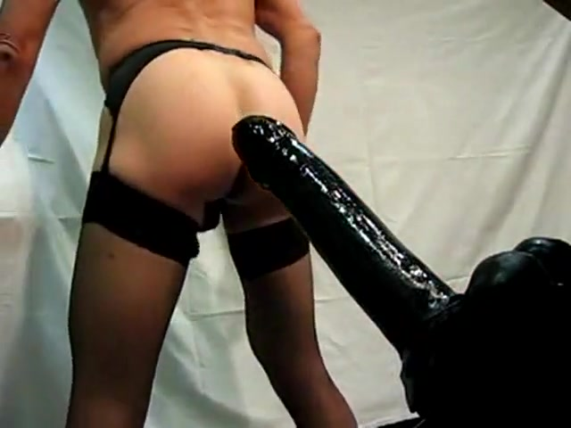 Cross Dresser Black Toys sex video in spanish