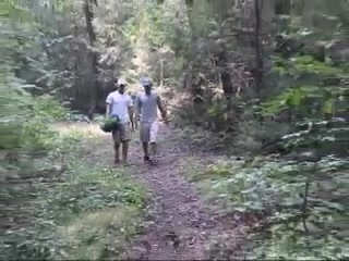Teasers in the woods girl on girl porntube