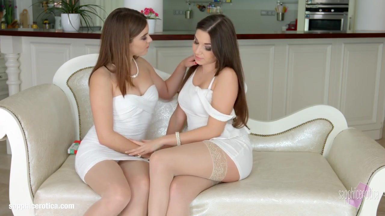 Striptease Lesbianas sexy