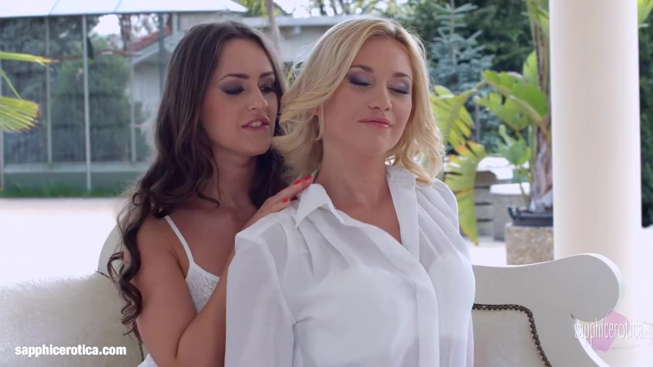Natural Love by Sapphic Erotica lesbian love porn with Lindsey Olsen Kendra Star Anal sex in devon