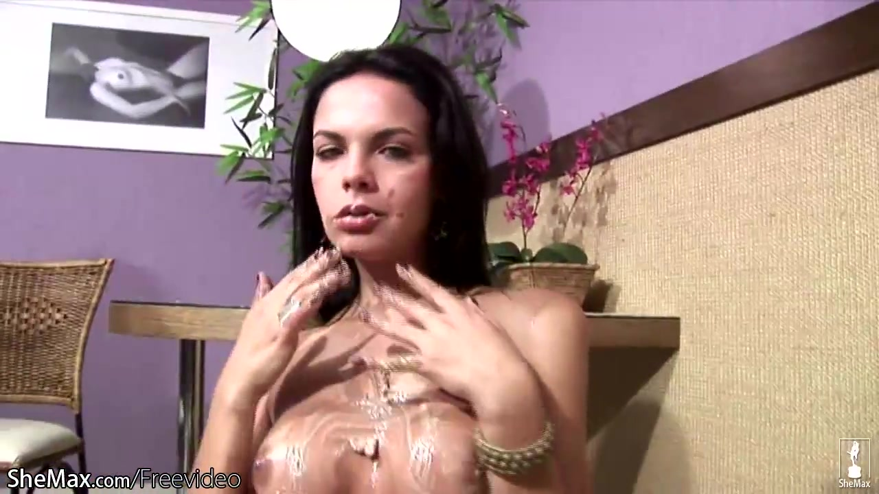 Big ass feminine tranny squirts whipped cream inside her ass Missionary sex interracial