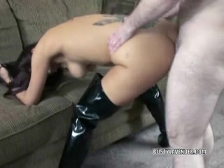 Breasty swinger Lavender in boots and getting screwed Free african kiwi on big dick porn pict