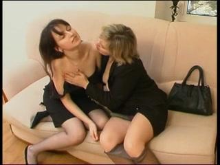 In stockings women mature