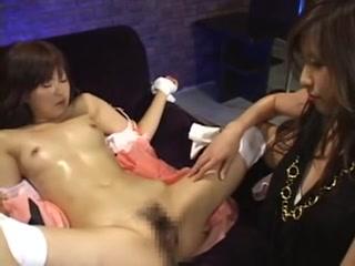 Fucked licking lesbo Scissoring