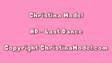 Christina Model Last Dance black women pretty pussy