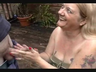 REDNECK GRANNY TAKES COCK TO THE HEAD