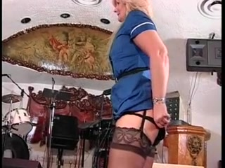Wench in nylons receives butt spanked jenna j ross jelena jensen