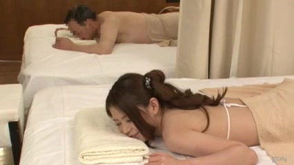 Erotic Oil Massage Secret Creampie->