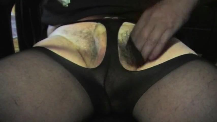 Shemale sissy pantyhose nylon sounding urethral fetish toy all tubes riley ray anal