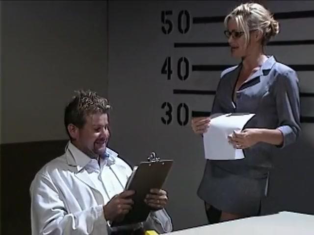 Barett Moore Goes Cock Crazy In Interrogation Room