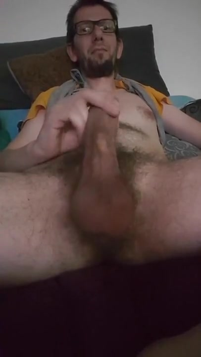 Samen Jacking off her beautiful cock