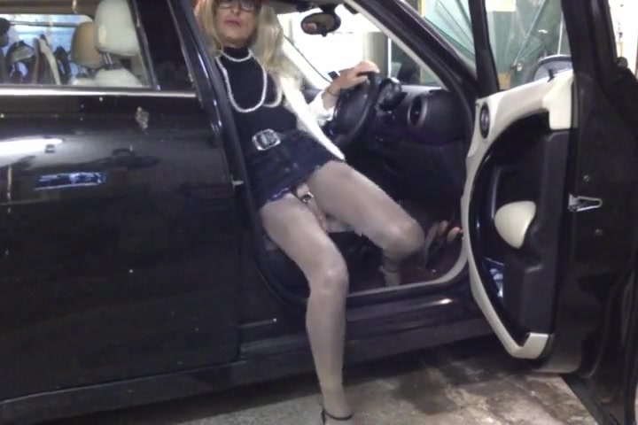 CD PANTYHOSE SLUT CAR TEASING Comfortable work boots reviews