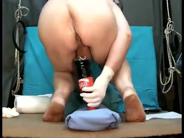 Coca cola bottle Big white booty tubes