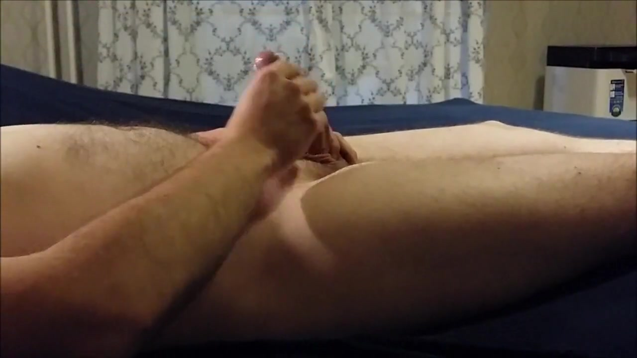 Lying in bed and stroking my cock Busty masseuse london